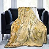 Size: 50 * 40 Inch / 60 * 50 Inch / 80 * 60 Inch, 3 Size For Choice. Ultra-Plush Softness: This Decorative Throw Blanket Is Made Of High Quality Polyester Fabric, Lightweight, Comfortable Touch, Which Offer Relaxing Warmth And Coziness, Perfect For A...