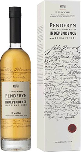 Penderyn Distillery Independence Madeira Cask Whiskey (1 x 0.7 l)