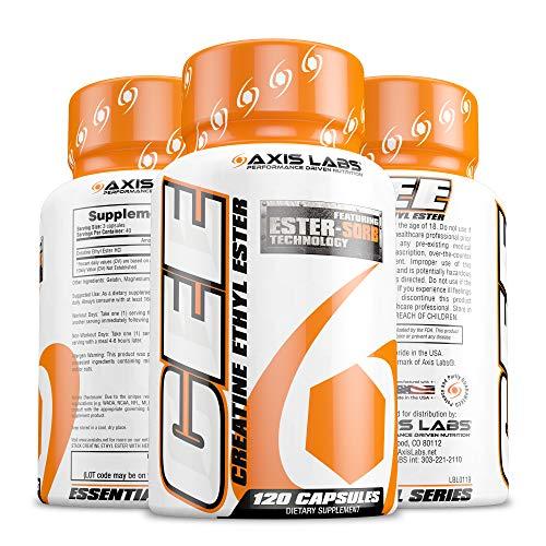 Axis Labs Creatine Ethyl Ester 120 Caps, 1 Units