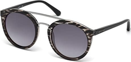 Guess Round Women's Sunglasses Black GU7387 52 21 135mm