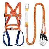 Herramienta De Arnés De Seguridad para Todo El Cuerpo, Cinturón De Seguridad Industrial Universal contra Caídas, Equipo De Protección Personal Multifuncional para Rescate