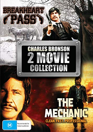 2 Movie Collection - Breakheart Pass & The Mechanic - Charles Bronson Collection - DVD Set