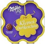 Milka Kleines Dankeschön Pralinen - Feine Pralinés aus Milchcrème umhüllt von Alpenmilch Schokoade - 12 x 50g