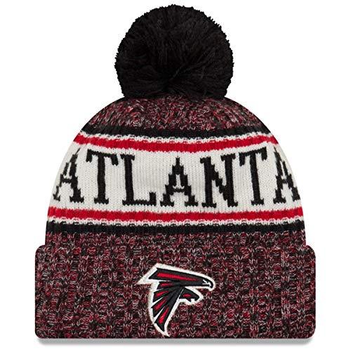 New Era NFL Sideline 2018 Bobble Mütze - Atlanta Falcons