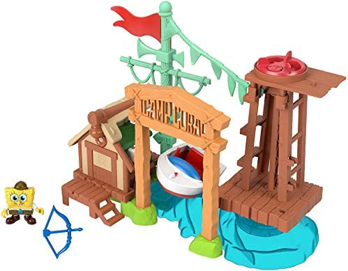 Fisher Price Imaginext SpongeBob Camp Coral Playset product image