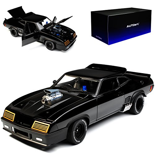 AUTOart Ford XB Falcon Tuned Version Mad Max II 2 Black Interceptor Schwarz 72775 1/18 Modell Auto