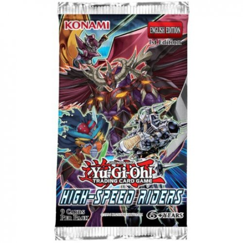 Yu-Gi-Oh! - Jeux de Cartes - Boosters Anglais - High-Speed riders