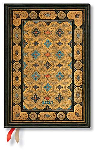 Paperblanks DE6844-0   Agende 12 Mesi 2021   Shiraz   Verticale   Midi (130 x 180 mm)
