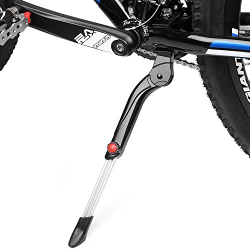 BV Fahrradständer, Seitenständer Faltbarer Fahrrad Ständer Einstellbarer Universal Fahrrad Ständer, Parkstütze für Mountainbike, Rennrad, Fahrräder und Klapprad, für 24-29 Zoll Fahrräder