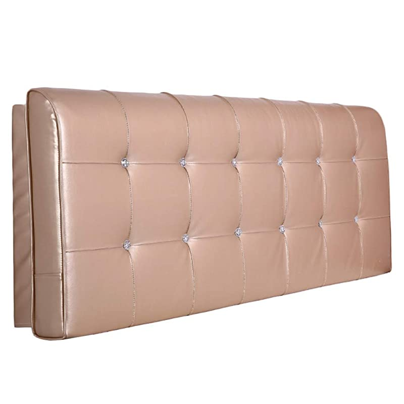 応答石炭干し草SXT ヘッドボードベッドサイドベッド背もたれクッション大型枕ヘッドレストソファ室内装飾腰椎色サイズ、カスタマイズされた (Color : Champagne, サイズ : 150x10x58cm)