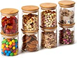 Eviqe Store® - 6 Piece Glass Jars Air Tight Canister Kitchen Food Storage
