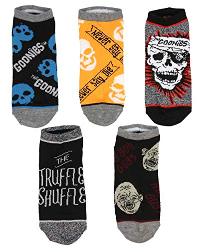 The Goonies Mix And Match Mens And Womens 5 Pack Ankle Socks