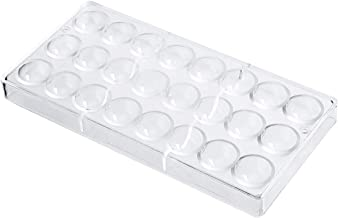 SODIAL 24 Holes Semi Sphere Chocolate Mould Polycarbonate Chocolate Bar Mold Half Ball Candy Maker Mold Bakeware