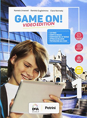 Game on! Student's book-Workbook. Per la Scuola media. Con audio formato MP3. Con e-book. Con espansione online. Con DVD-ROM. Con Libro: Maps [Lingua inglese]: 1