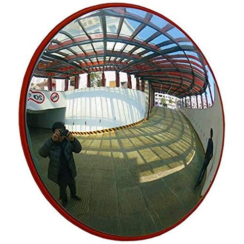 Espejo de gran angular interior de 30 cm, espejo de seguridad de conducción, espejo de PC Esquina montada en la pared Espejo ciego, imagen clara, usado en supermercados y centros comerciales