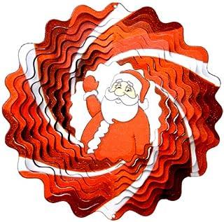 eBuyGB Gigante de Pap/á Noel Renos de Santa Claus poli/éster Rojo 28,6/x 31,8/x 4,6/cm