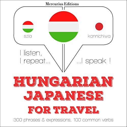 Couverture de Hungarian – Japanese. For travel
