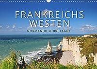 Frankreichs Westen - Normandie und Bretagne (Wandkalender 2022 DIN A3 quer): Highlights und Geheimtipps in der Normandie und der Bretagne (Monatskalender, 14 Seiten )