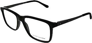 Men's Rl6133 Rectangular Prescription Eyeglass Frames