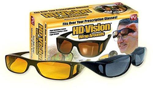 Kretix New ImpressiveDay & Night HD Vision Goggles Anti-Glare Polarized Sunglasses Men/Women Driving Glasses Sun Glasses UV Protection car Drivers
