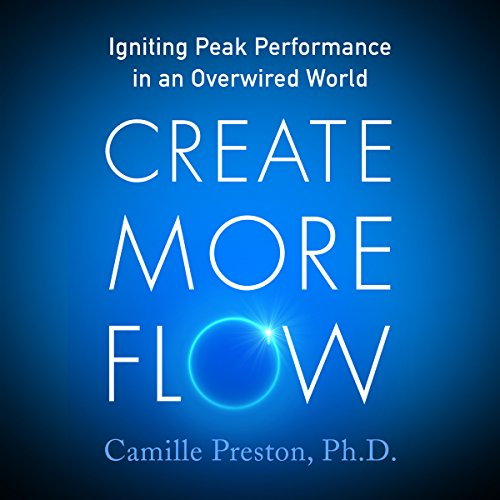Create More Flow audiobook cover art