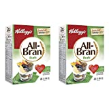 Kellogg's All Bran Buds Cereal 500g/17.6oz, 2-Pack (Imported from Canada)