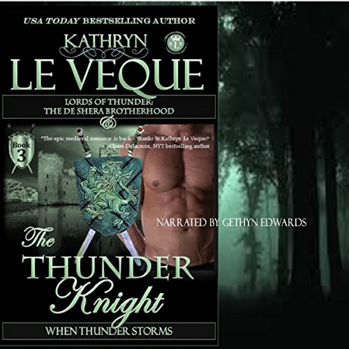 The Thunder Knight audiobook cover art