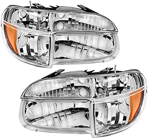 JSBOYAT Headlight Assembly Compatible with 1995 2001 Ford Explorer 1997 Mercury Mountaineer product image