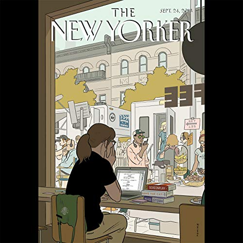 The New Yorker, September 24th 2018 (Paige Williams, John Lahr, George Packer) audiobook cover art