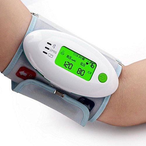 D&F Oberarm-Blutdruck-Monitor Vollautomatische Blutdruck, Monitor Haushalt Intelligentes LCD, BlutdruckmessgeräTe Genauigkeit Medizinisches Tragbares USB-Wiederaufladbare BlutdruckmessgeräT