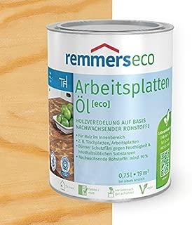 Remmers Arbeitsplatten-Öl eco Holzöl Holzveredelung 750 ml, farblos