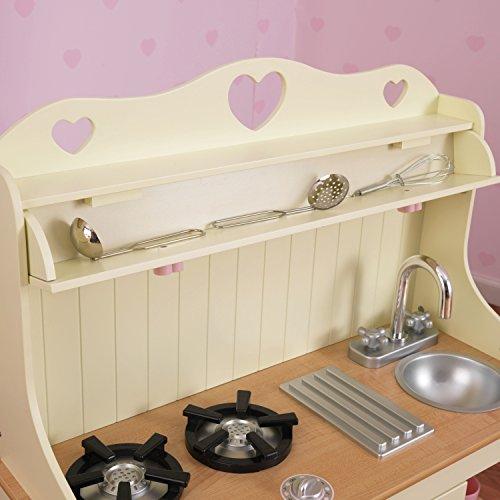 KidKraft 53151 Prairie Prärie-Spielküche aus Holz in Weiß Landhaus Kinderküche - 9