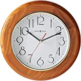 Howard Miller Grantwood Wall Clock 620-174 – Champagne Oak & Round with Quartz Movement