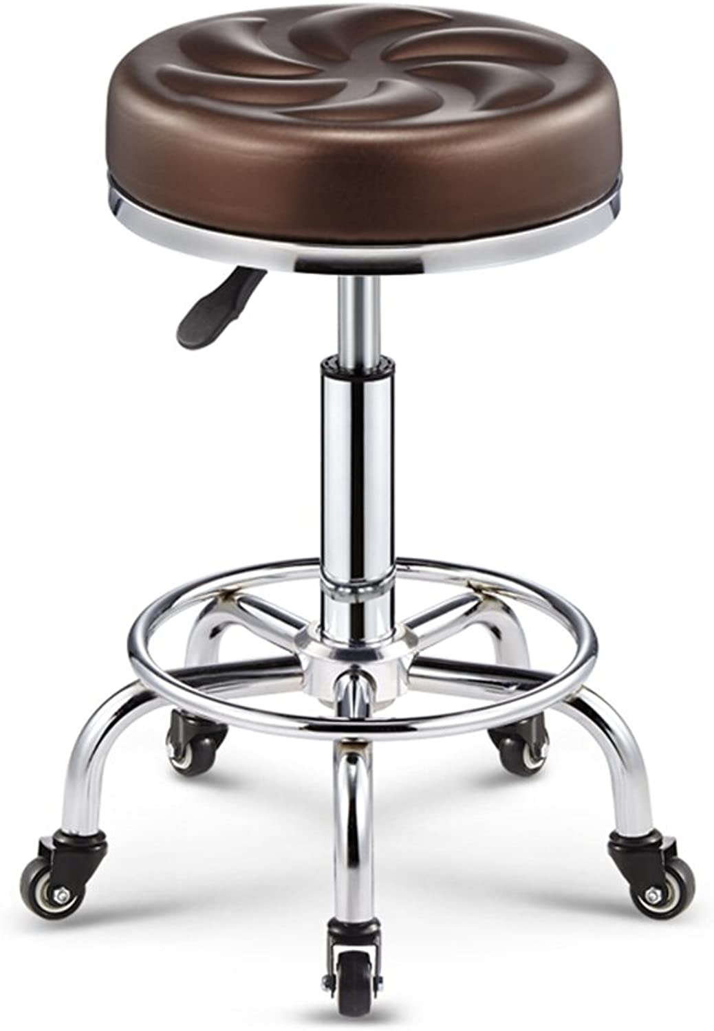 Bar stools, bar Chair Can Lift Beauty Stool Stool Casual Chair 360 Degree (color    1)