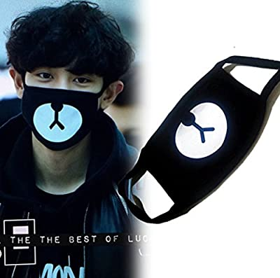 Mouth Mask Unisex for Kids Teens Men Women Lovers, Cotton Anti-Dust Windproof Motorcycle Face Masks for Ski Cycling Camping