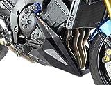 Quilla con malla para moto Yamaha FZ-8N 10-15/FZ-8 FAZER 10-15, color plateado y negro