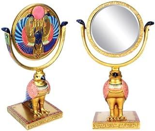 Summit StealStreet Egipcio Horus Sol Disco Espejo Egipto Coleccionable Figura Decorativa
