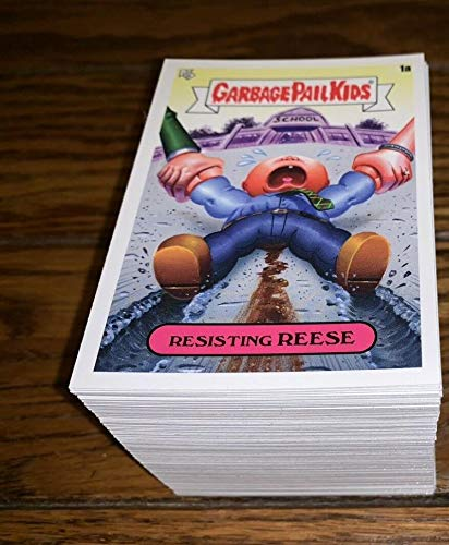 2020 Topps Garbage Pail Kids Late to School Complete Hand Collated NM NonSport Set of 200 Cards (100A Names and 100B Names)