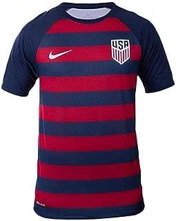 Nike Men's USA Vapor Match Gold Cup Soccer Jersey Red/Navy/White Size XXL