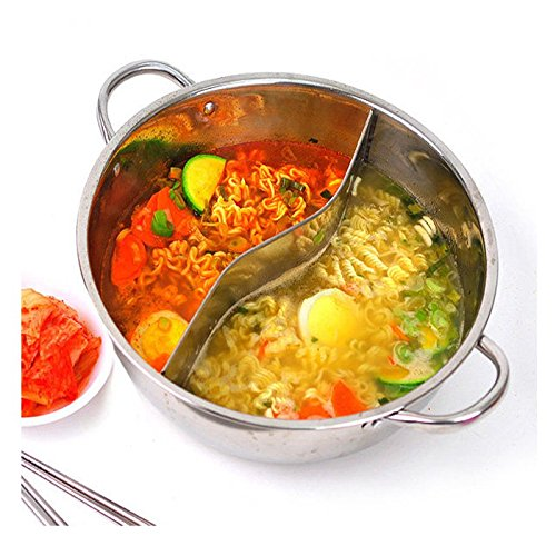 Half Stainless Steel Cookware Set Pots Saucepan Pan Kitchen Soup