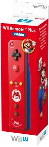 Nintendo Wii U und Wii - Remote Plus, rotes Mario Design