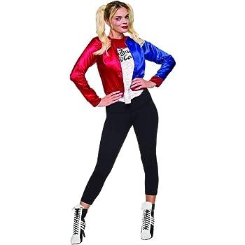 Rubies Kit de disfraz para chicas de Harley Quinn (talla grande ...