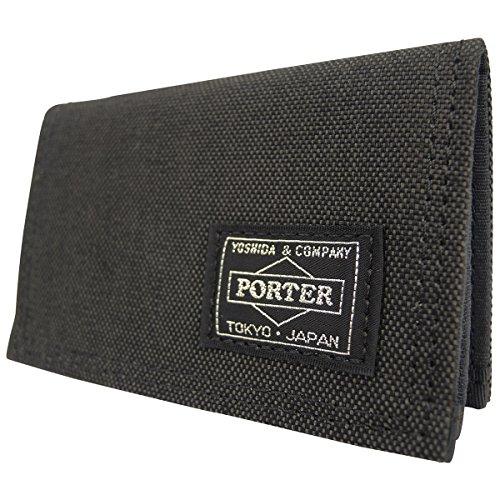 (ポーター)PORTERカードケース[スモーキー]592-099921.ブラック