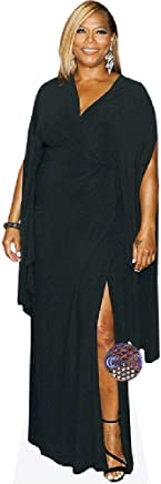 Queen Latifah (Black Dress) Life Size Cutout