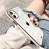 OWM iPhone 11 Case Clear Silicone Transparent Back Bumper