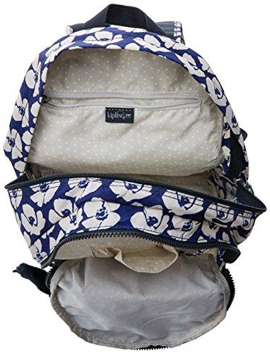 Kipling CLAS Challenger Backpack for Women, 36 x 26 x 21 cm (W x H x L) Multicolour Multicoloured (Bold Flower)