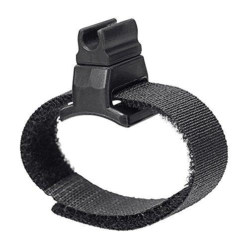 Pronomic MCH-100K Universal Klettband Mikrofonhalter (passend für Pronomic MCM-100 Mikrofon an Klarinette u.ä.) schwarz