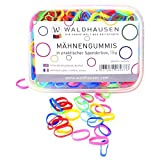 WALDHAUSEN Mähnengummis in Spenderbox, extra breit, multicolor
