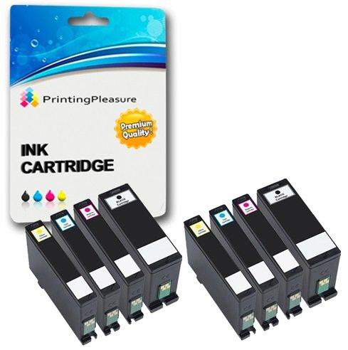 8 (2 SETS) Compatible Printer Ink Cartridges for Dell V525W, V725W   Dell Series 31, 32, 33, 34