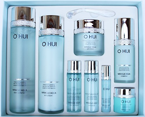 Ohui Miracle Aqua 4-piece Special Limited edition Gift Set 2016